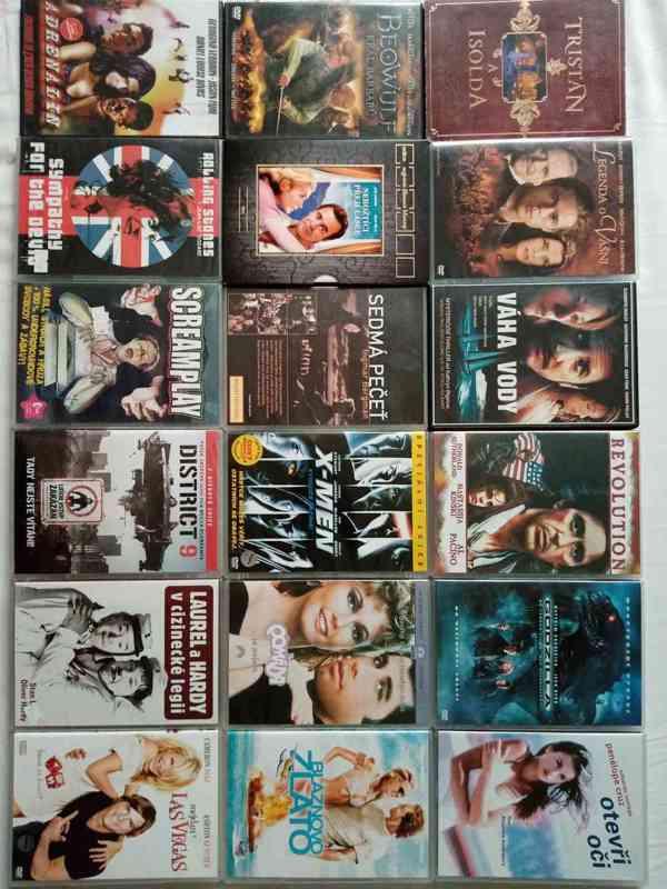 Nove foto 30.7. 150 original DVD- filmy a detske po 65 Kc - foto 2
