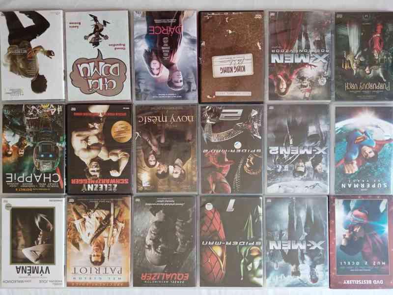 Nove foto 30.7. 150 original DVD- filmy a detske po 65 Kc - foto 4