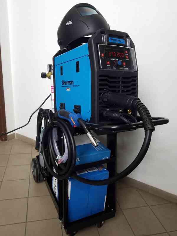 Kompletní Svářecí SET DIGIMIG 200 Synergi 230V 200A