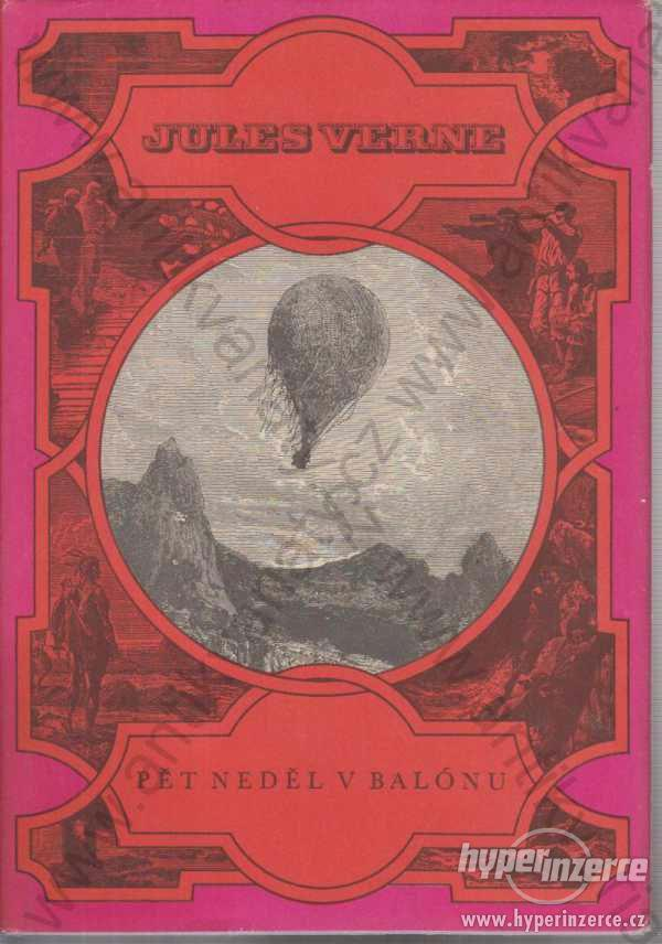 Pět neděl v balónu Jules Verne Albatros 1969