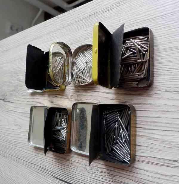 5 krabiček s gramofonovými jehlami do starých gramofonů - foto 4