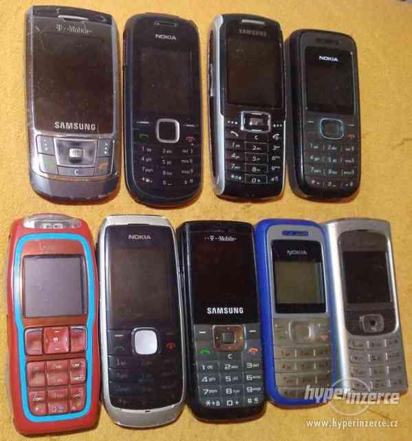 Tlačítk. mobilní telefony -100 % funkční!!!