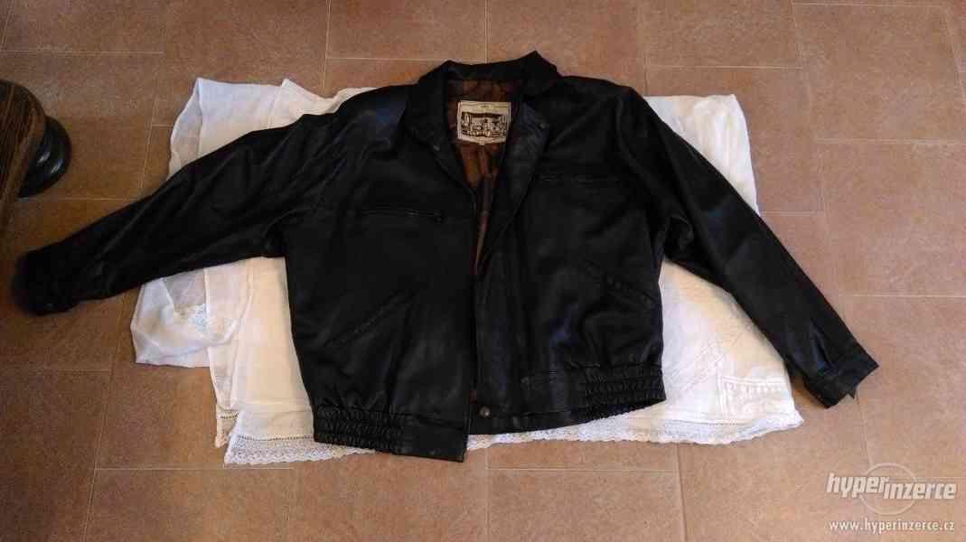 Kožená bunda 3 krasné nenošené bundy