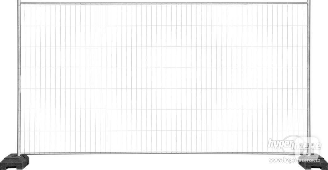 Mobilní stavební ploty - Oplocení 3,5m x 2,0m TOP Qvalita!