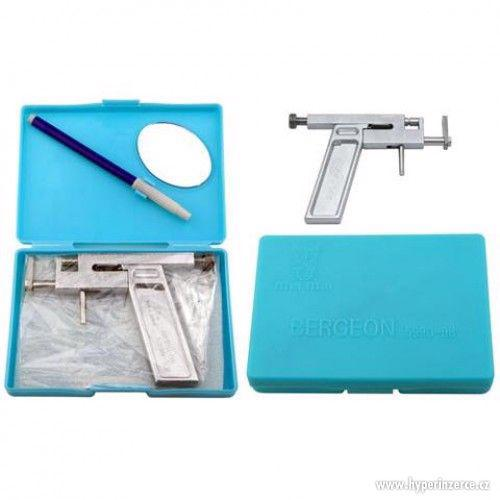Prodám nastřelovací pistole pro piercing i náušnice + Krabič