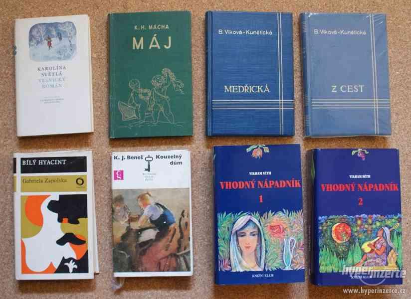 Nabízím knihy různých žánrů