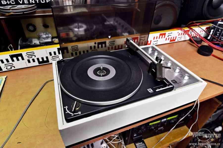 16-33-48-78 RPM gramofon Perpetuum Ebner - Německo 1969