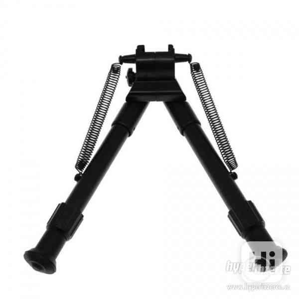 Opěrná střelecká dvojnožka Bipod teleskopická na RIS lištu