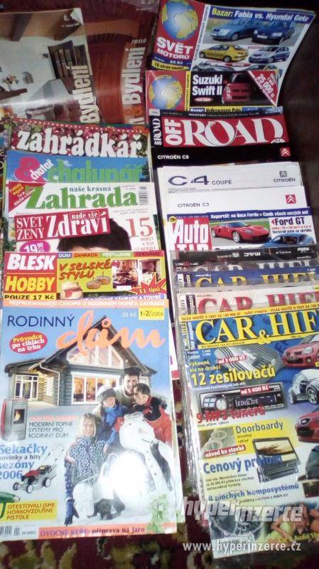 Spoustu věcí do bytu na chatu  a pod. (v Praze 7 a u Votic) - foto 80