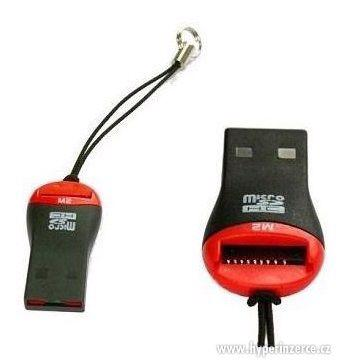 USB Micro SD - Čtečka paměťových karet