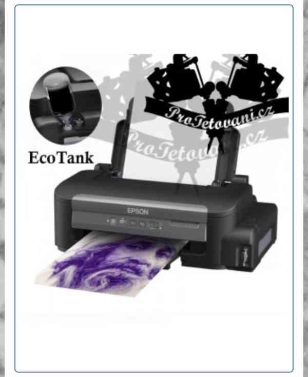 Tiskarna pro prenos tetovacich motivu