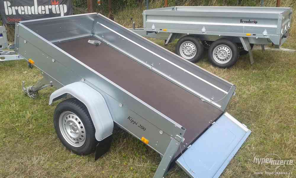 Nový sklopný přívěsný vozík. - foto 2