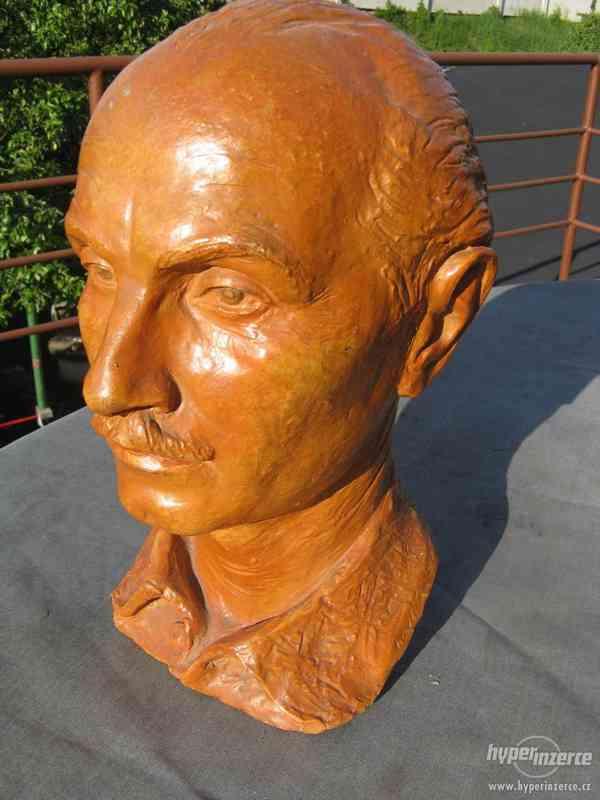 Busta od  J. Havlička