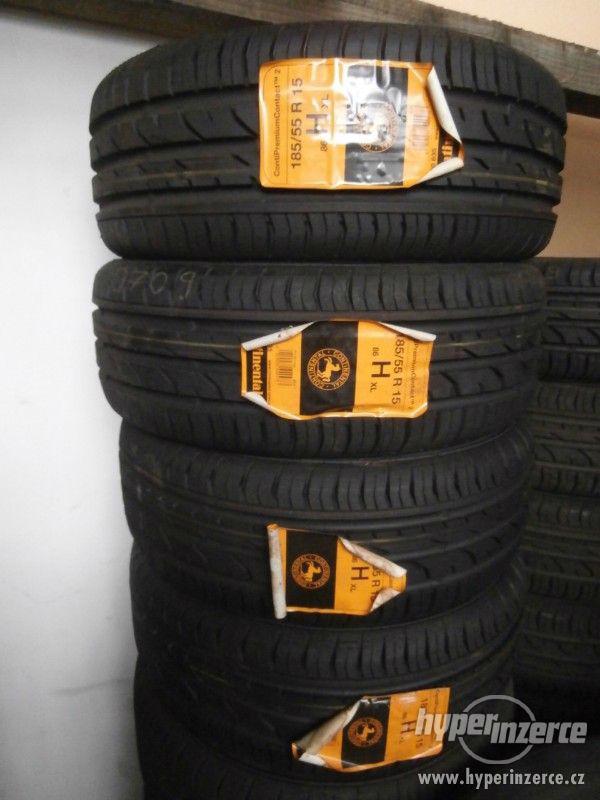 Letní pneumatiky 185/55 R15 86H Continental XL 100%
