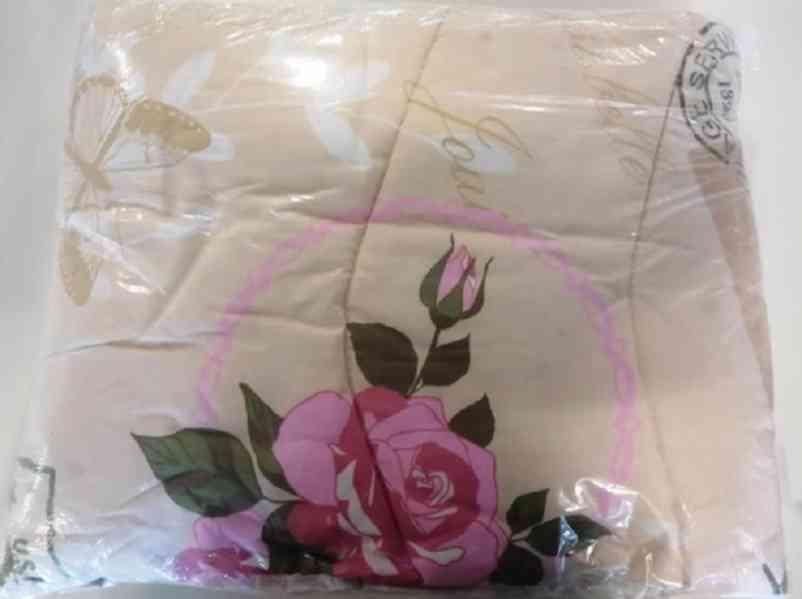 dětský set (polštář, přikrývka) - růže