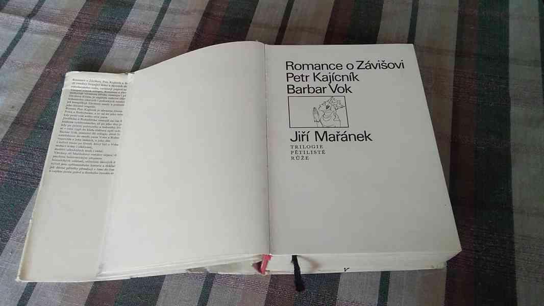 Romance o Závišovi, Petr Kajícník, Barbar Vok - trilogie - foto 3