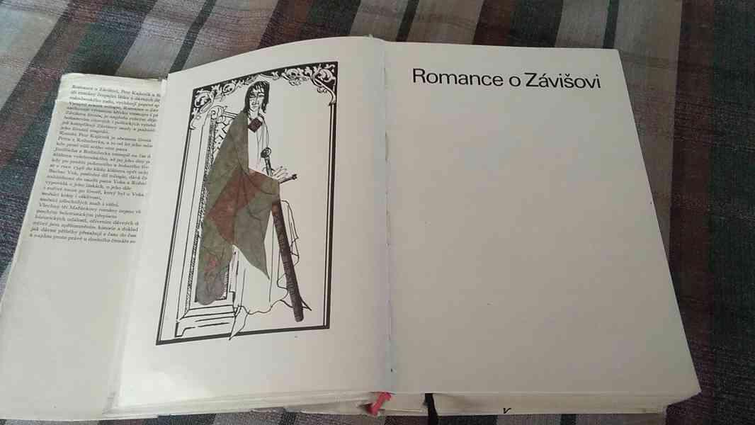 Romance o Závišovi, Petr Kajícník, Barbar Vok - trilogie - foto 4