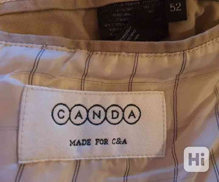 Pánské sako Canda - velikost 52 - foto 4