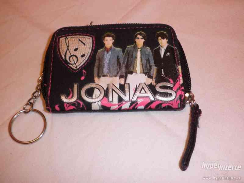 Dětská peněženka s Jonas Brothers - nová - foto 1