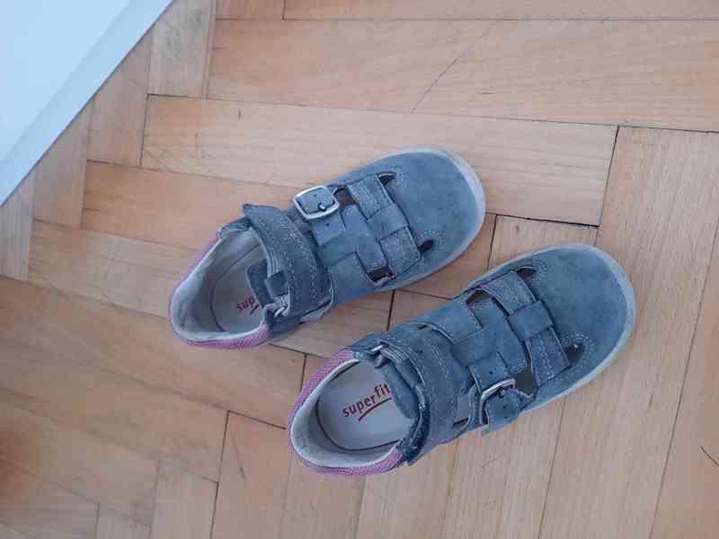 Sandálky Superfit, vel. 27