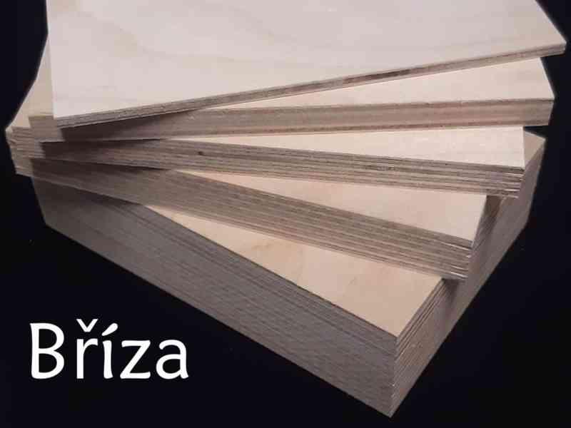 Překližka bříza surová - řezání na rozměr - Frenštát p/R. - foto 4