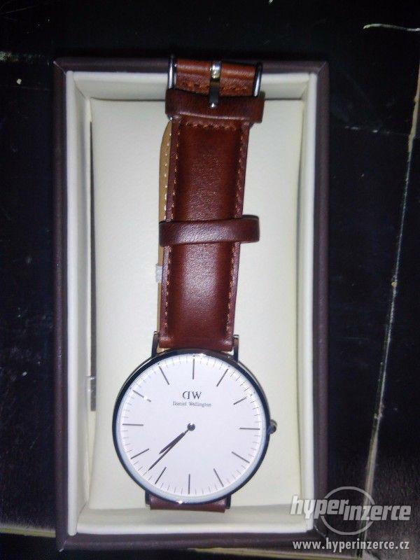 Pánské hodinky Daniel Wellington Silver