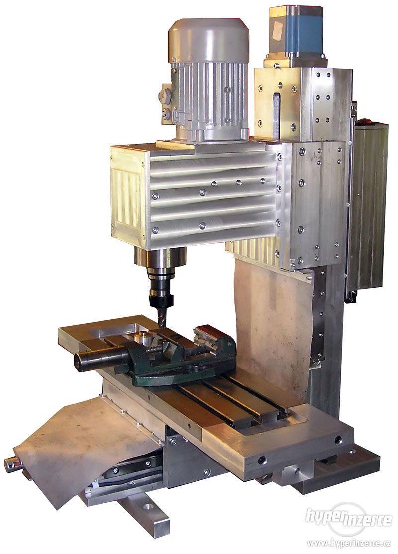 CNC frézky - výroba na zakázku - foto 1