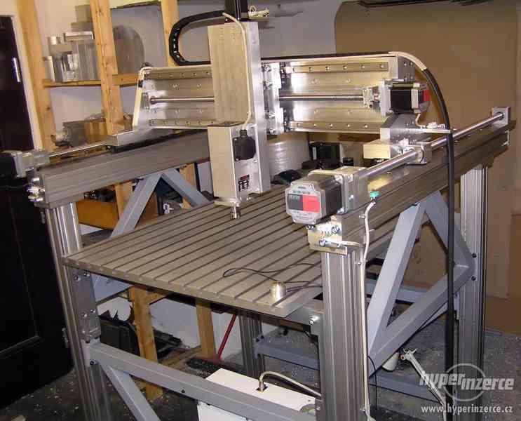 CNC frézky - výroba na zakázku - foto 5