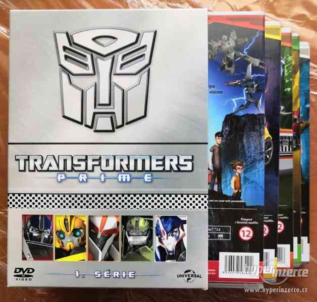 TRANSFORMERS PRIME 1. série