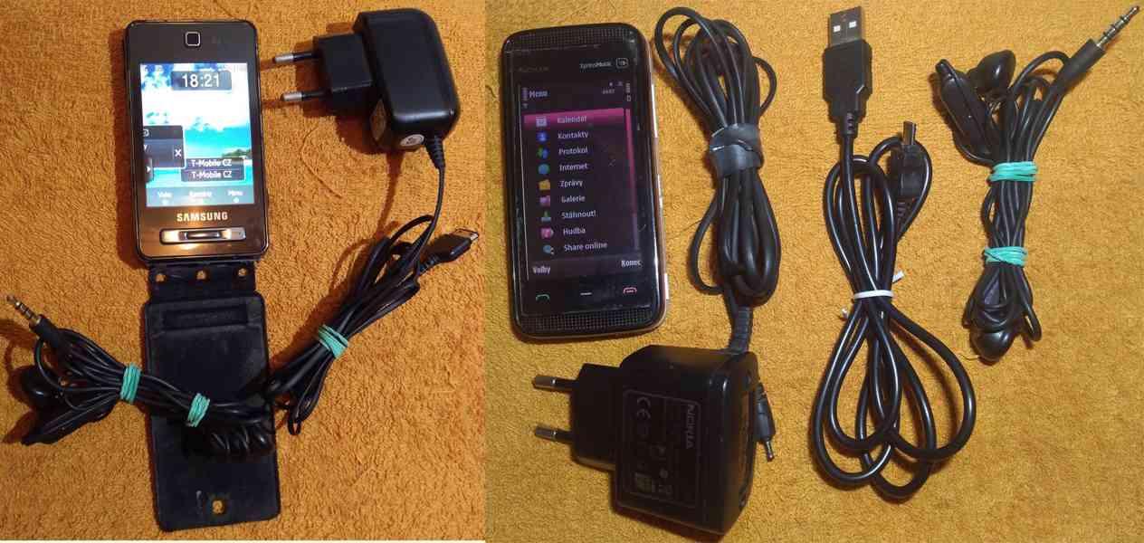 Nokia 5530 XpressMusic +Samsung SGH-F480 -zcela funkční!!! - foto 1