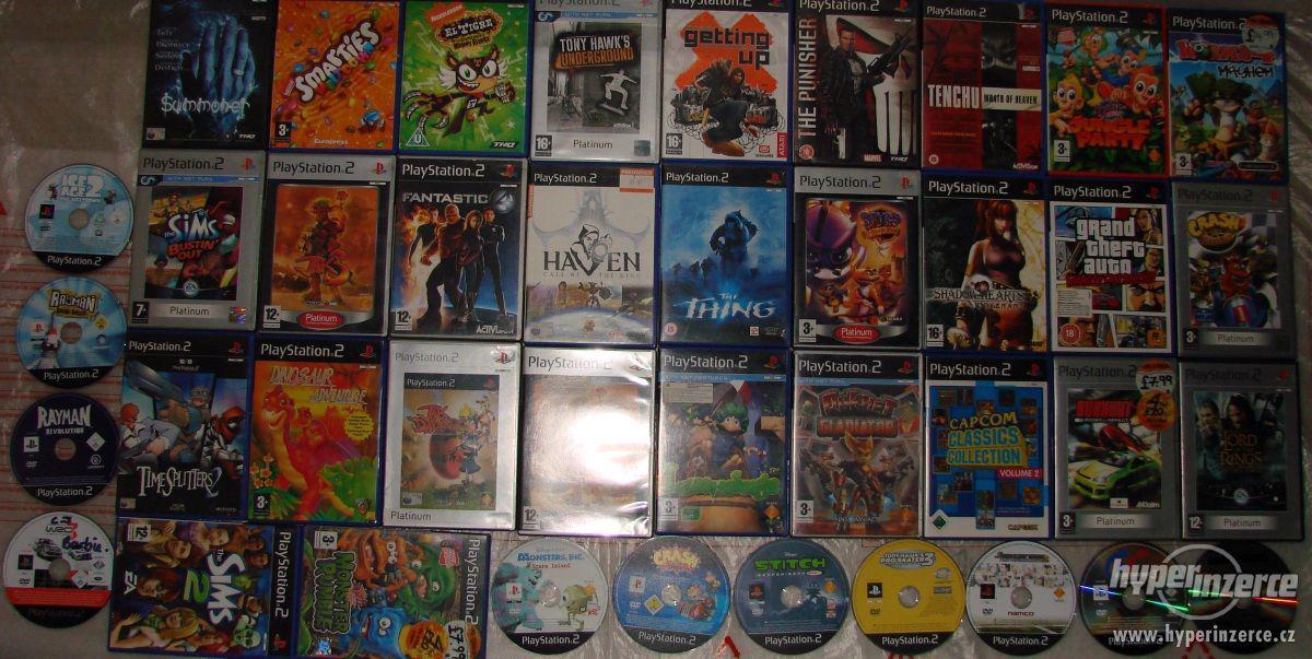 PS2 hry (pro dospělé i dětské hry) - Brno posta dobirka - foto 1