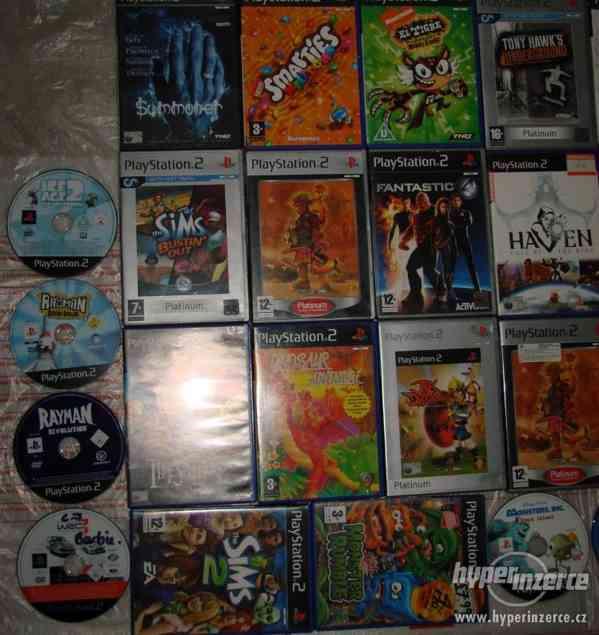 PS2 hry (pro dospělé i dětské hry) - Brno posta dobirka - foto 2
