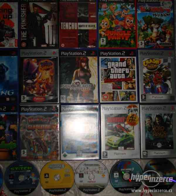 PS2 hry (pro dospělé i dětské hry) - Brno posta dobirka - foto 3