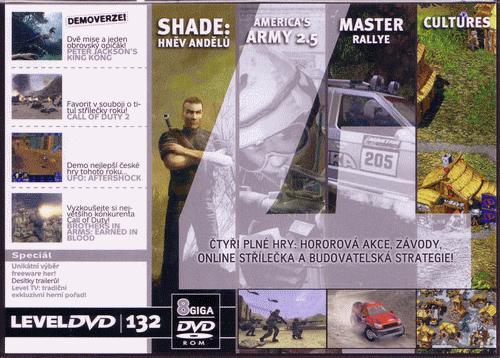 Prodám DVD Level 132