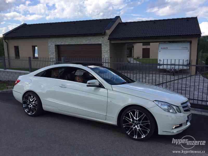 E350 CDI Coupe 170 kW, najeto pouze 131.000 km, ČR, TOP STAV