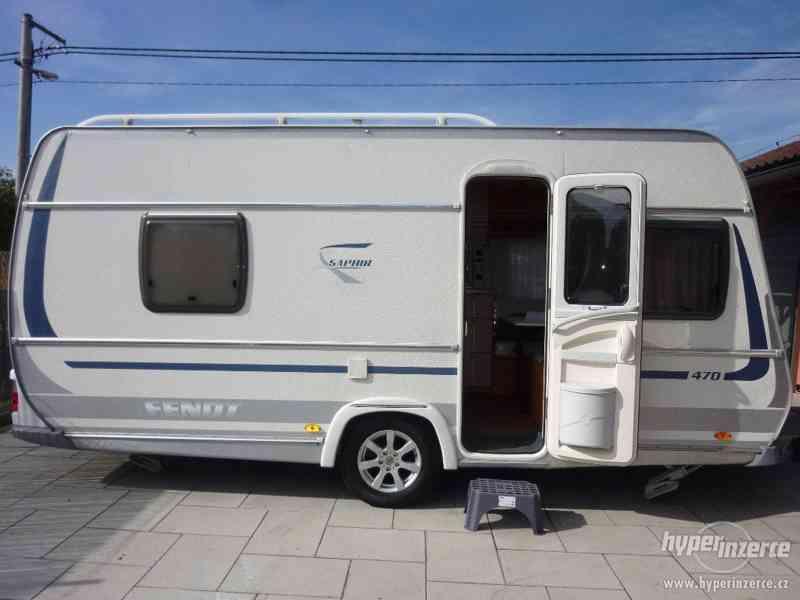 karavan ,obytný přívěs Fendt SAPHIR 470 rok  2009