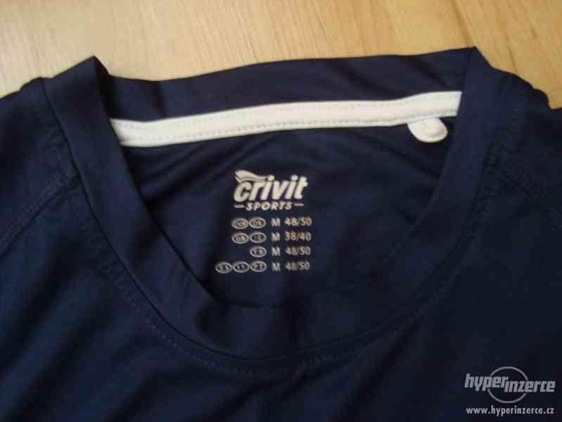 CRANE sportovní triko vel  M - foto 2