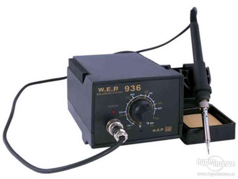 Mikropájka - pájecí stanice WEP 936 ESD