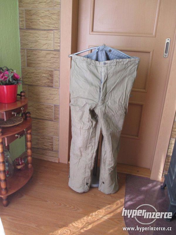 Kalhoty pracovní zateplené