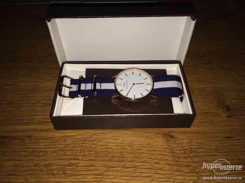Originální módní hodinky značky Daniel Wellington