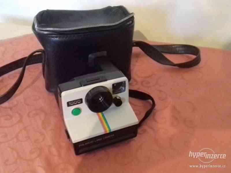 Polaroid 1000 Land Camera + brašna