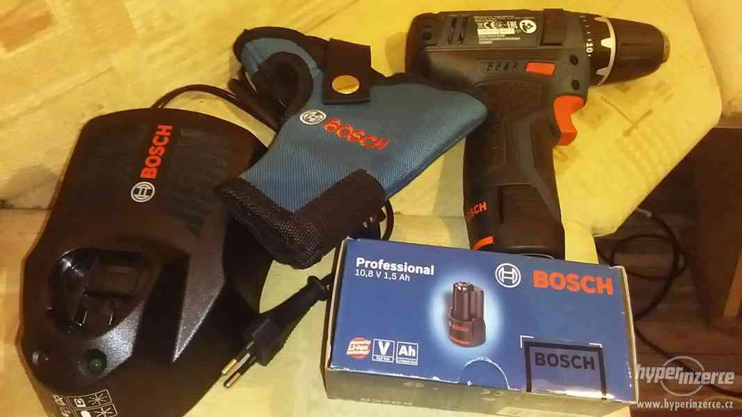 Aku vrtacka Bosch GSR 10,8-2-LI Professional komplet