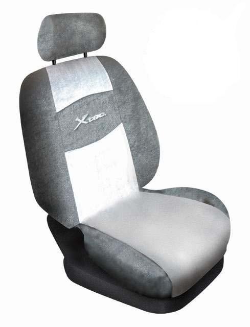 Autopotahy Xtec pro Škoda Octavia I a jiné vozy (šedé)
