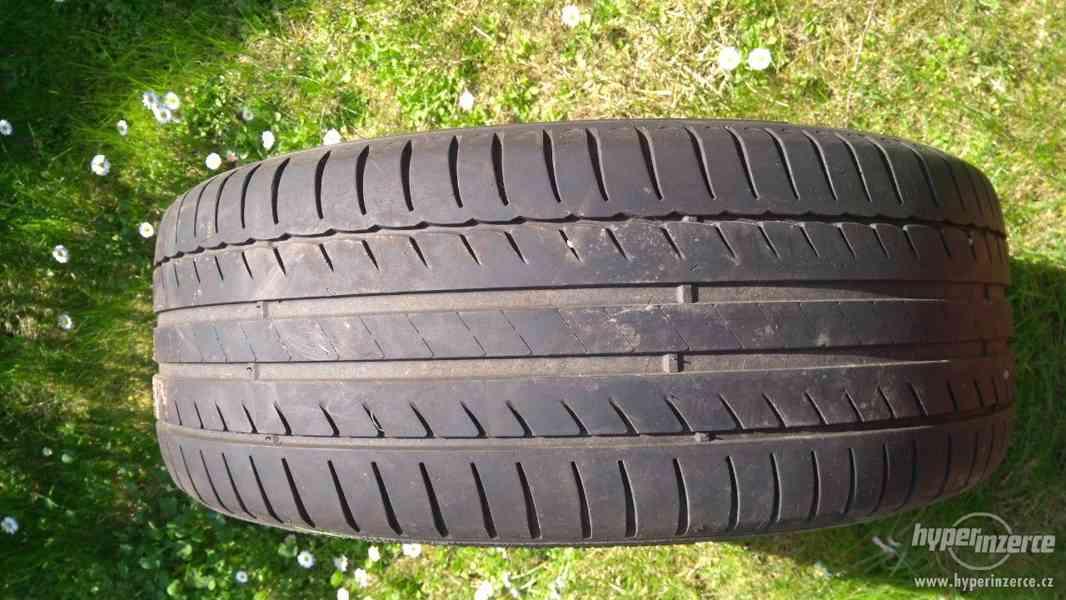 4 ks. Plechové disky R16 + letní pneu Michelin na 1-2 sezóny