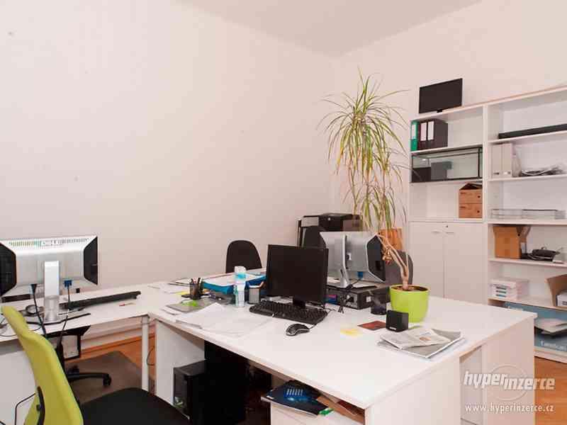 Recepční stůl v perfektním stavu + další kancelářský nábytek - foto 5