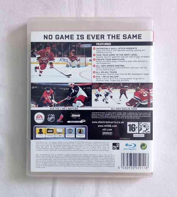 PS3 - NHL 08 (NHL 2008) - foto 3
