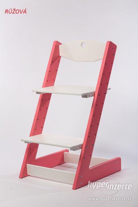 Rostoucí židle ALFA II - různá barevná kombinace - foto 2