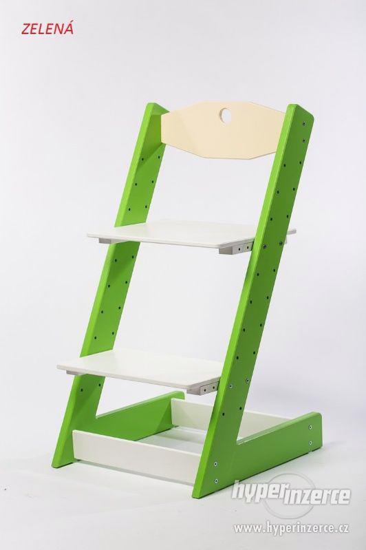 Rostoucí židle ALFA II - různá barevná kombinace - foto 3