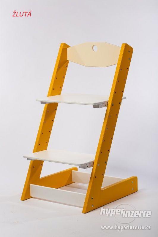 Rostoucí židle ALFA II - různá barevná kombinace - foto 4
