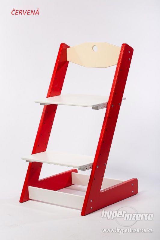 Rostoucí židle ALFA II - různá barevná kombinace - foto 5